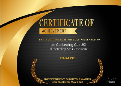 Finalist – Independent Shorts Awards