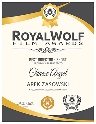 CHINESE ANGEL – Best Director Short – Royal Wolf Film Awards